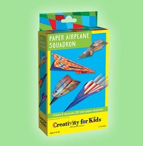 Paper Airplane Squadron Mini Kit