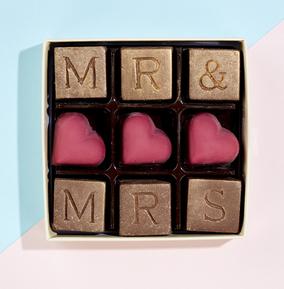 Mr & Mrs Chocolate Box