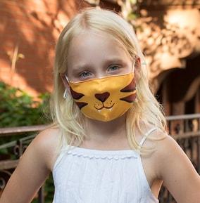 Kid's Tiger Face Mask