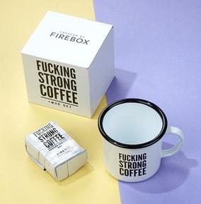 F*cking Strong Coffee Mug & Sachet