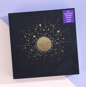 Star Burst Constellation Christmas Cards - Pack of 20