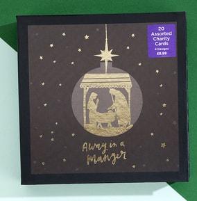 Golden Design Christmas Cards - Pack of 20