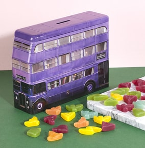 Harry Potter Knight Bus With Magical Candy