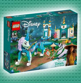 LEGO Disney Princess Raya and Sisu Dragon