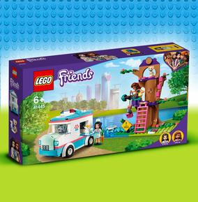 LEGO Friends Vet Clinic Ambulance
