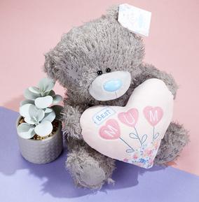 Tatty Teddy Best Mum Pink Padded Heart