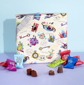 Monty Bojangles Giftwrapped Truffle Box