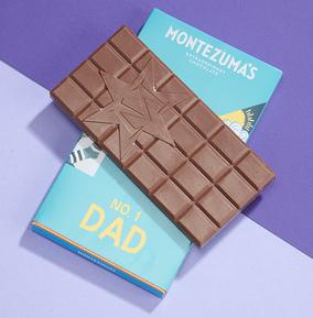 Montezuma's No. 1 Dad Giant Chocolate  Bar