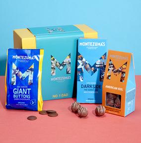 Montezuma's No. 1 Dad Chocolate Hamper