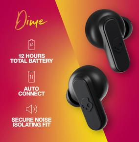 Skullcandy Dime True Wireless Earbuds  - True Black