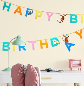 Animal Happy Birthday Garland