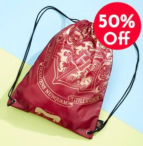 Harry Potter Drawstring Bag