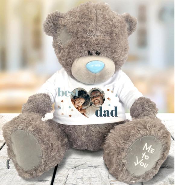 Best Dad Photo Upload Bear