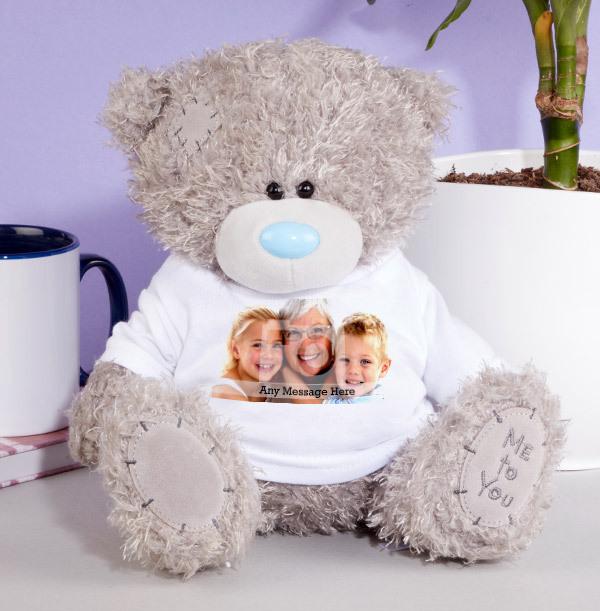 Photo Grandma Me to You Teddy Bear