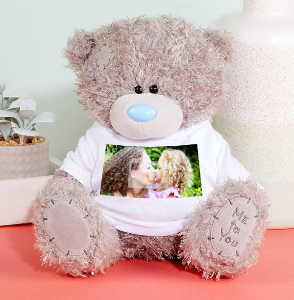 Personalised Full Photo Tatty Teddy
