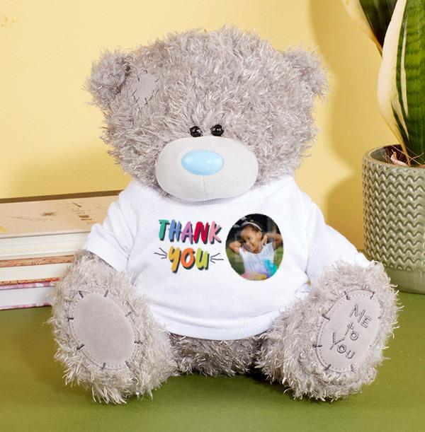 Rainbow Thank You Tatty Teddy Bear