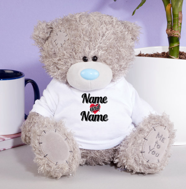 Couple's Personalised Me to You Bear