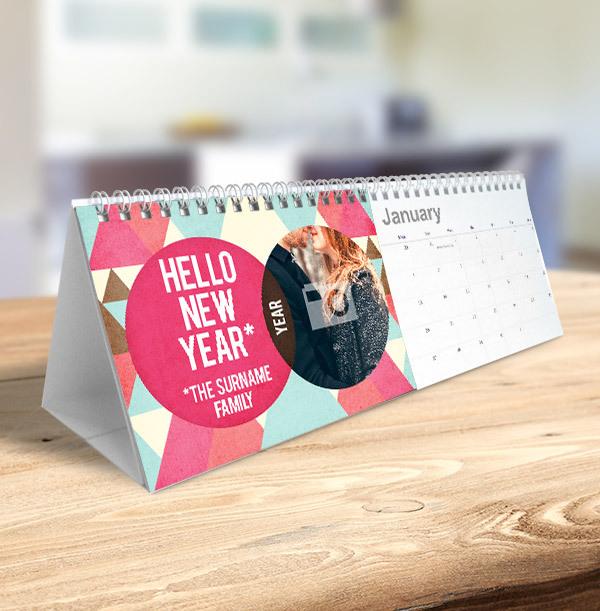 Quote & Photo Upload Famliy Calendar