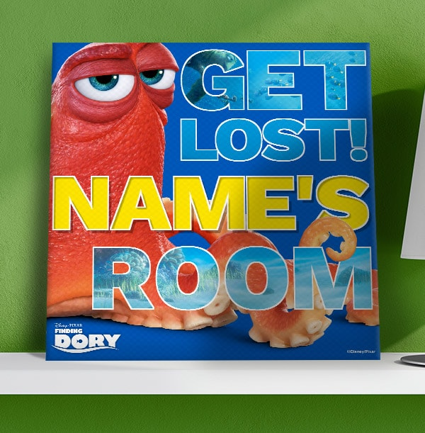 Finding Dory Hank Personalised Canvas