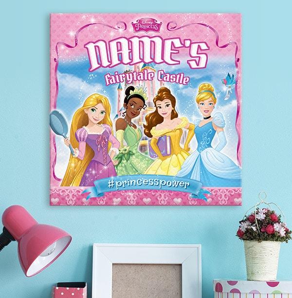 Disney Princess Personalised Canvas