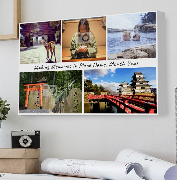 Making Memories Multi Photo Canvas - Landscape