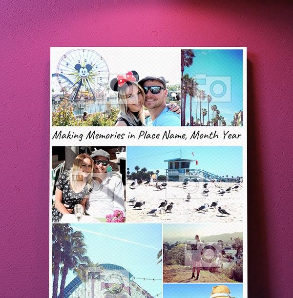 Making Memories Multi Photo Canvas - Portrait