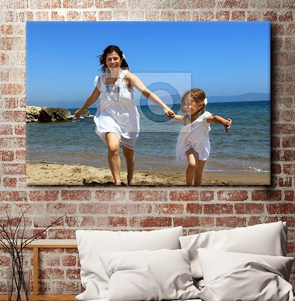 Full Photo Upload Landscape Canvas Print
