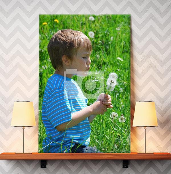 Full Photo Upload - Portrait Canvas Print