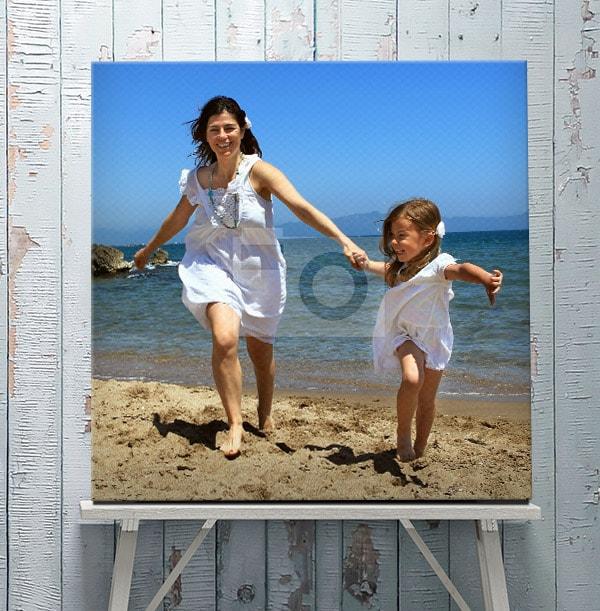 Full Photo Upload - Square Canvas Print