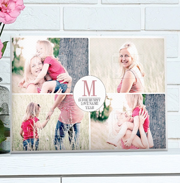 Personalised Canvas Print for Mother's Day - Landscape