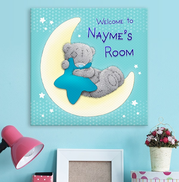 Me To You Room Square Canvas
