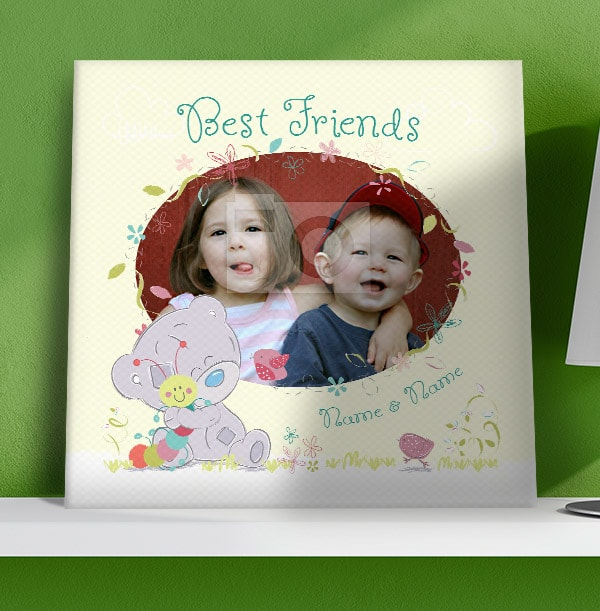 Me To You Best Friends Photo Canvas