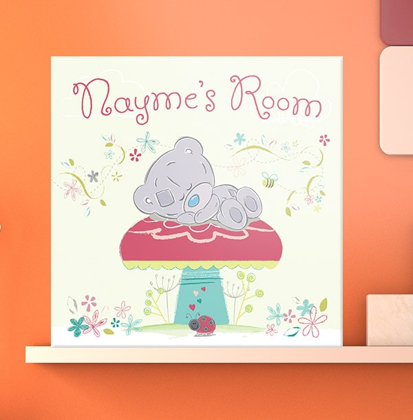 Me To You Personalised Room Canvas