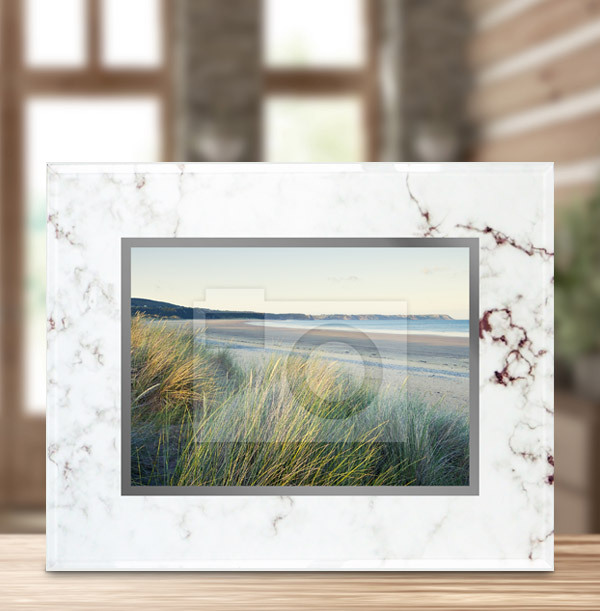 Marble Photo Frame - Landscape