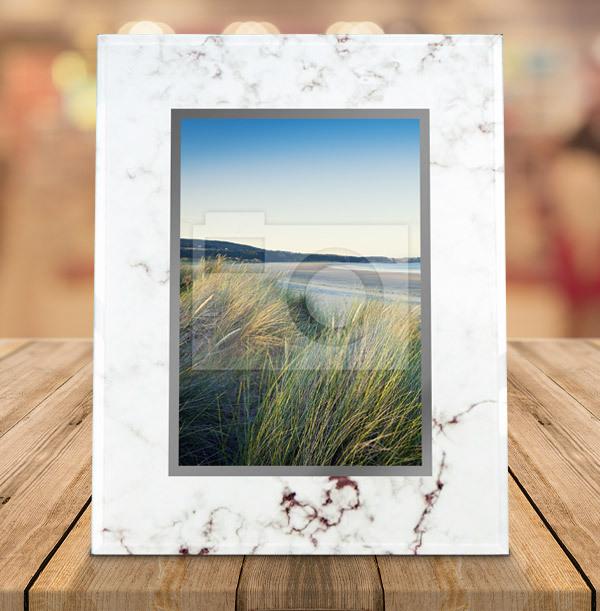 Marble Photo Frame - Portrait