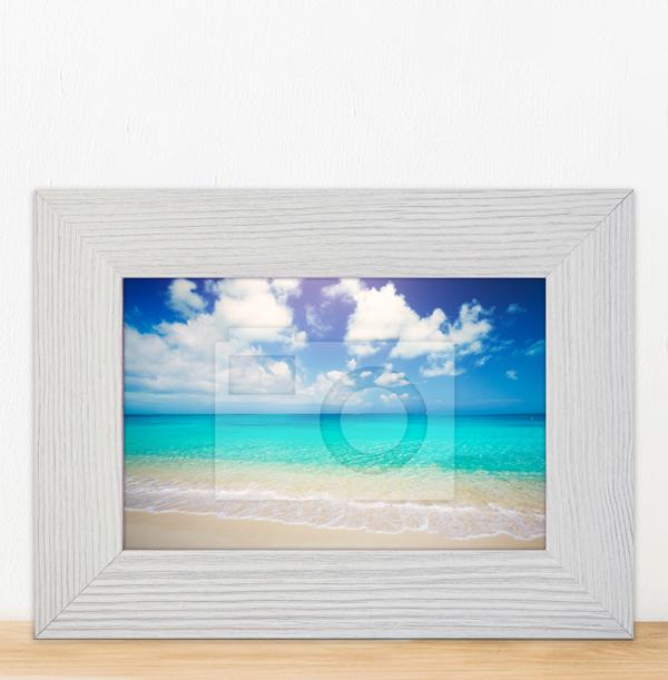 Wood Finish Photo Frame - Landscape