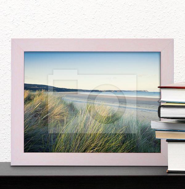 Pastel Pink Photo Frame - Landscape