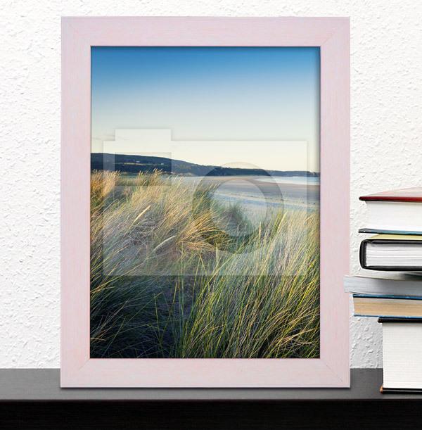 Pastel Pink Photo Frame - Portrait