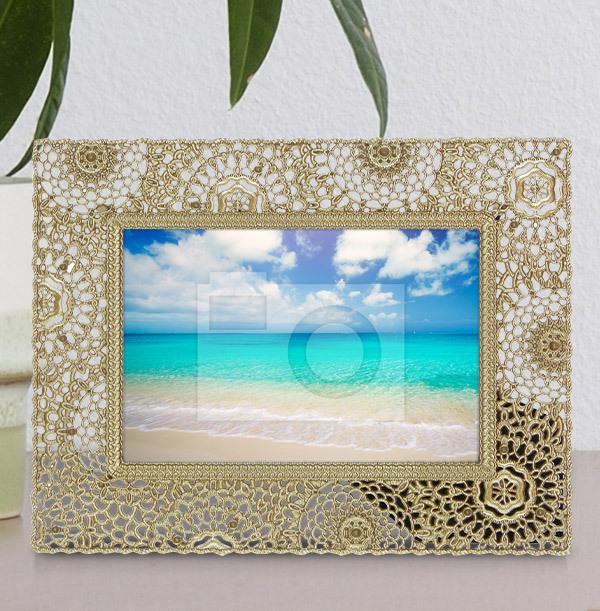 Gold Metal Photo Frame - Landscape