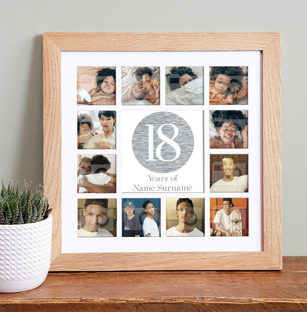18th Birthday Collage Frame