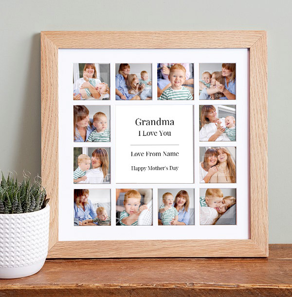 Grandma on Mother's Day Photo Collage Frame