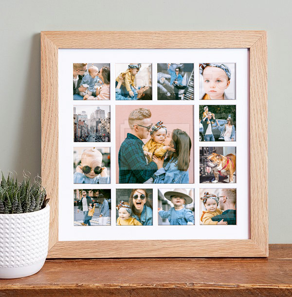 Photo Upload Collage Frame
