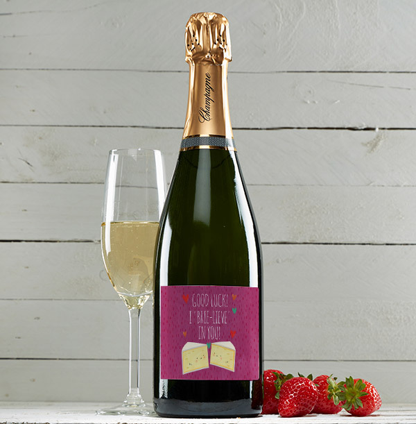 I 'Brie-lieve' in you Champagne Brut - Personalised