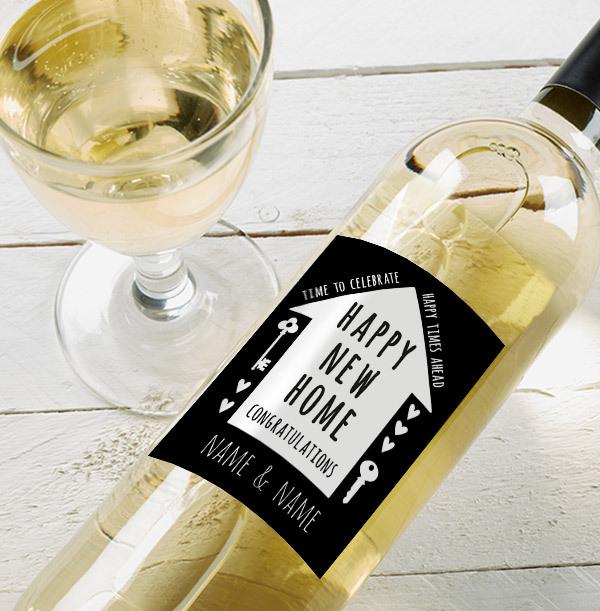 Happy New Home Sauvignon Blanc - Personalised