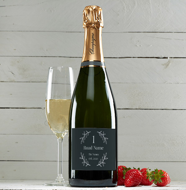 Personalised New Home Champagne Brut