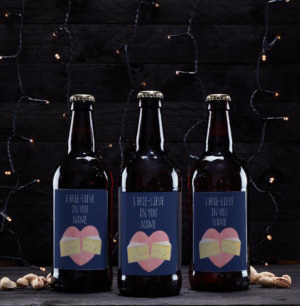I 'Brie-lieve' in you Personalised Beer - Multi Pack