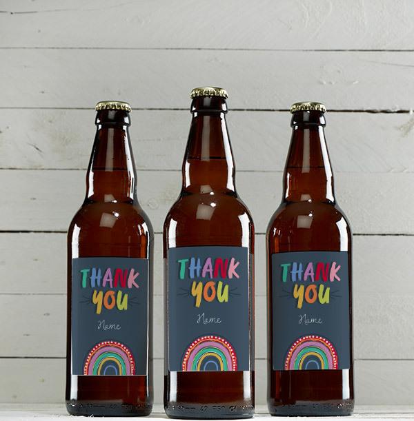 Thank you Personalised Beer - Multi Pack
