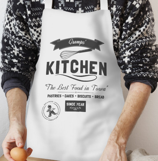 Gramps' Kitchen Personalised Apron