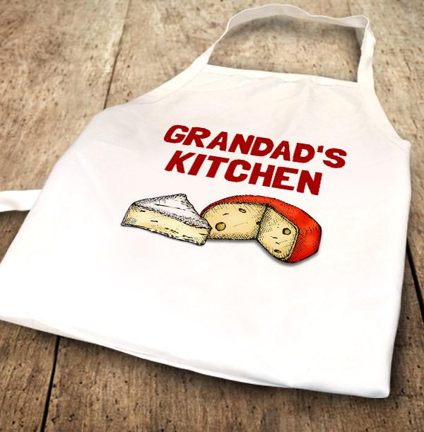 Grandad's Kitchen Personalised Apron