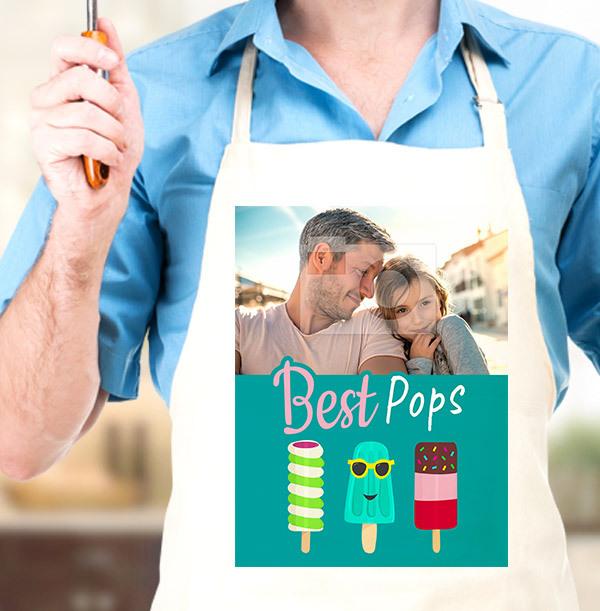 Best Pops Full Photo Apron